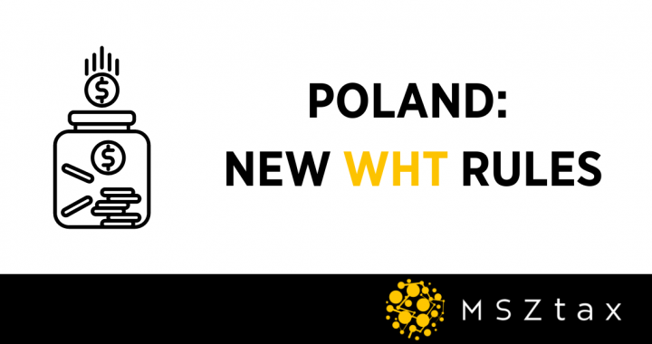 NEW WHT RULES POLAND