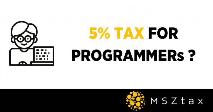 5% tax poland programmer