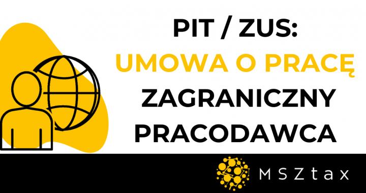Praca z Polski na rzecz zagranicznego pracodawcy