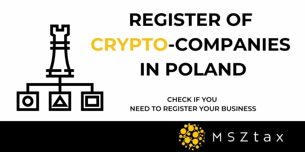 register of crypto companies in Poland